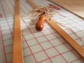 Beveled leather straps